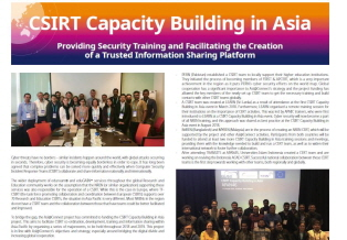 [Case Study] CSIRT Capacity Building in Asia (2019.02) 썸네일